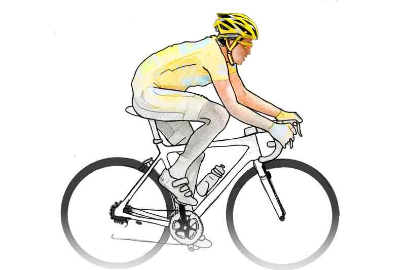 Anatomía de un ciclista: 10 ejercicios para volar dando pedales