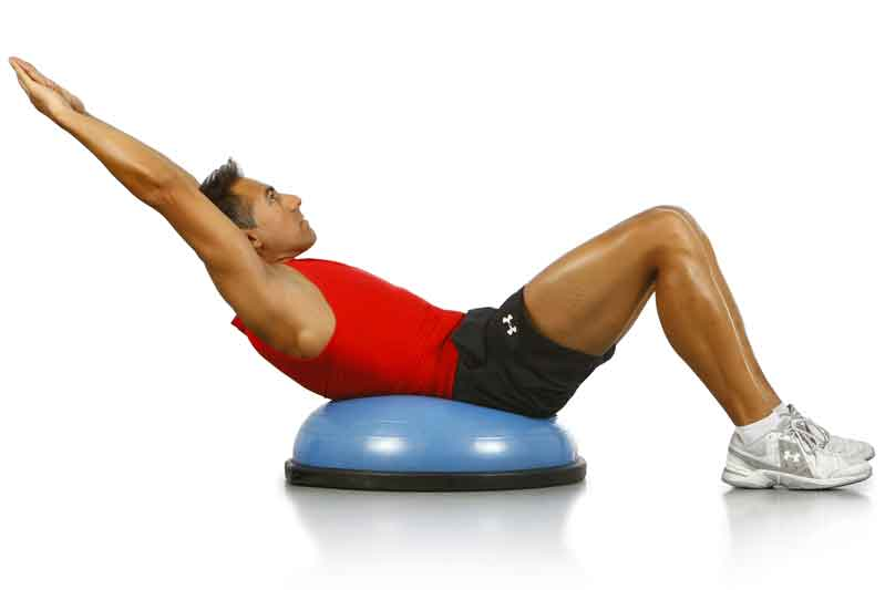 La clave del Curl up: controla la intensidad con los brazos