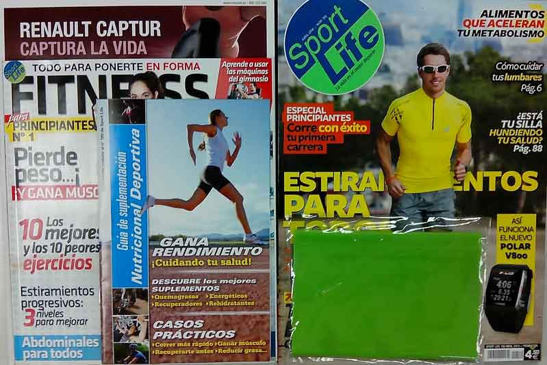Consigue la Guía Fiitness o la goma de musculación este mes con Sport Life
