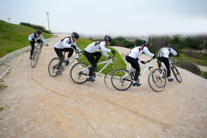 El C.S.I. de las caídas en bici