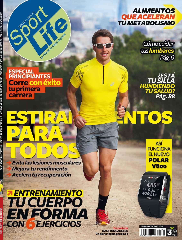 Sumario Sport Life 180 Abril 2014