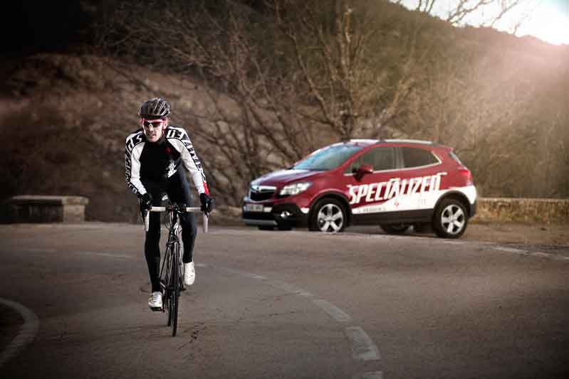 Lleva tu bicicleta a todas partes con Opel Flex Fix