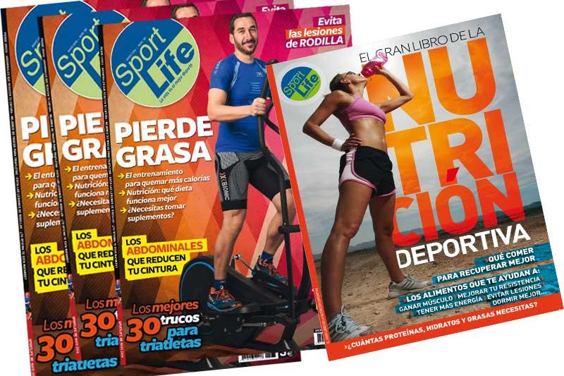 Ya está a la venta el número de mayo de Sport Life con el libro de la nutrición deportiva