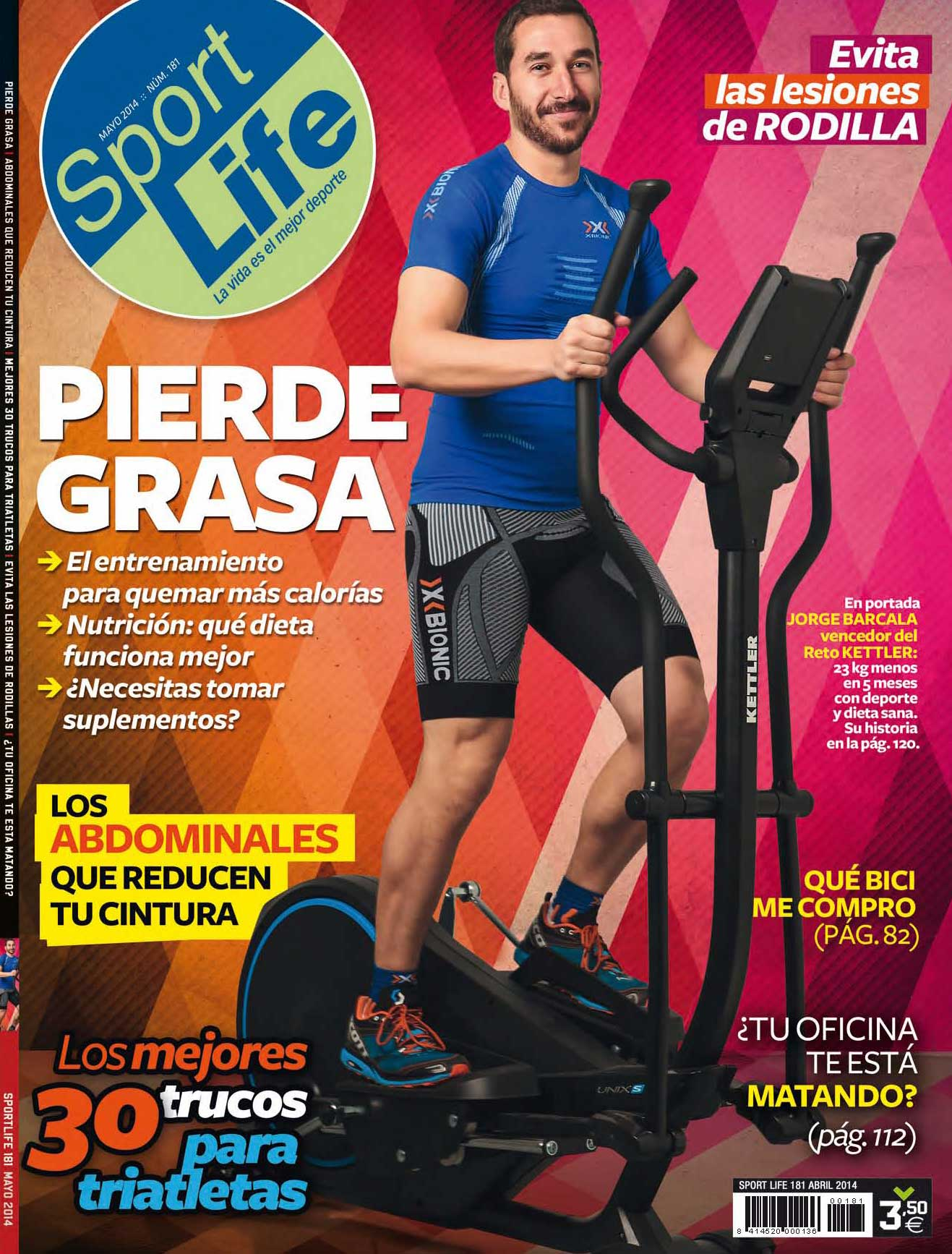 Sumario Sport Life 181 Mayo 2014