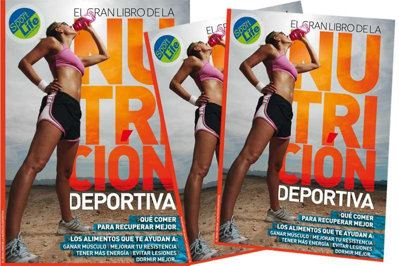 Así es el libro de nutrición deportiva que puedes conseguir con Sport Life este mes