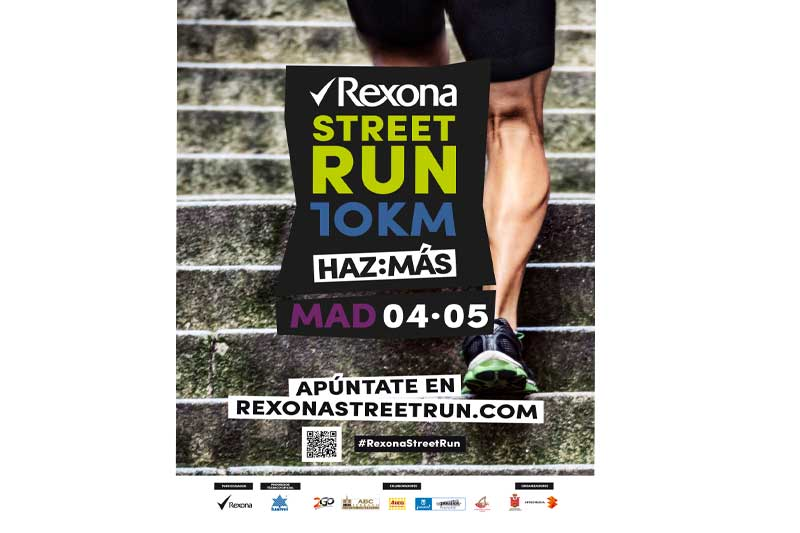El circuito Rexona Street Run llega a Madrid