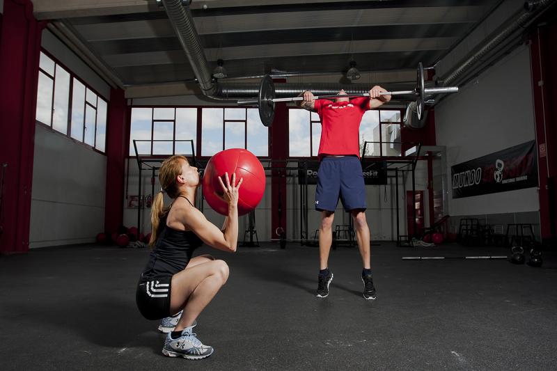 CrossFit y rodillas delicadas