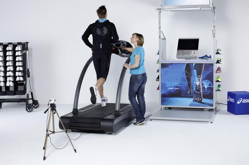 Mejora tu forma de correr con el asics Foot ID