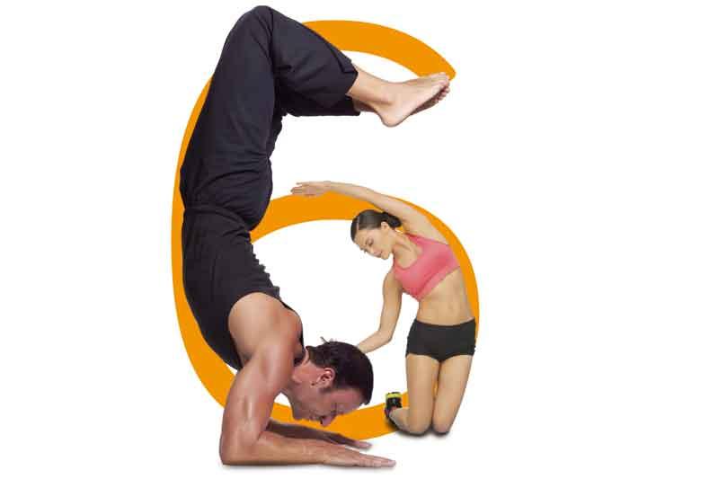 Todo tu cuerpo en forma con 6 ejercicios