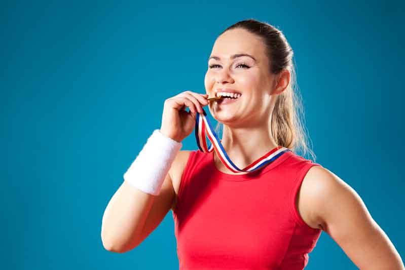 Una boca sana y deportista