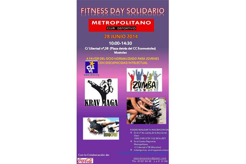Apúntate al Fitness Day solidario