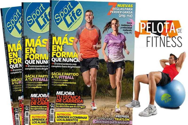 Consigue el fitnessball de Sport Life con tu número de junio