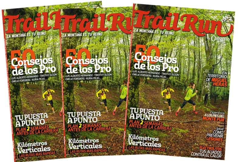 Dale zapatilla al verano con el número 2 de Trail Run