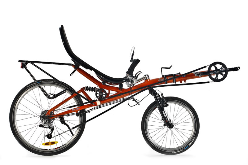 Bicicleta reclinada (recumbent bike)