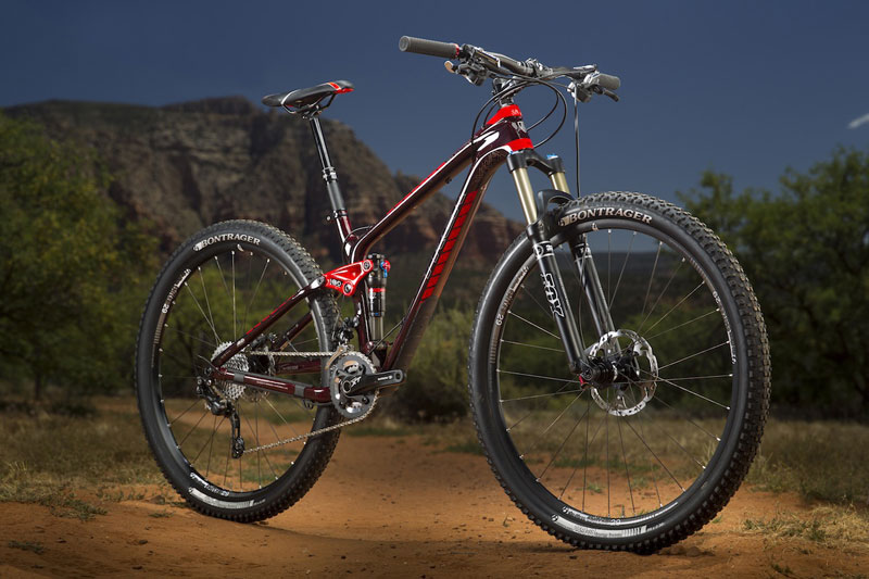 Bicicleta doble de Trail