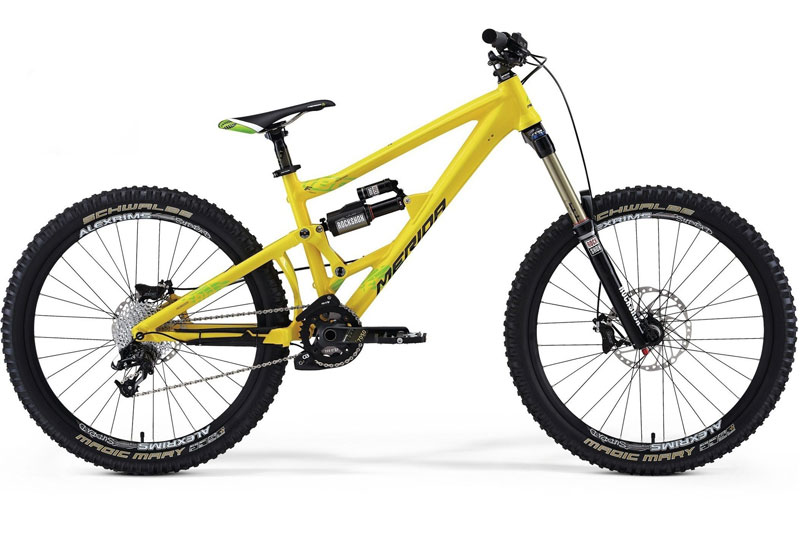 Bicicleta doble de Freeride