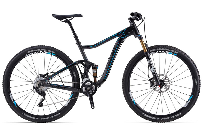 Bicicleta doble de Enduro