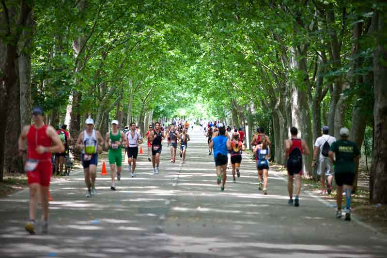Vuelve la fiesta del triatlón popular en Madrid