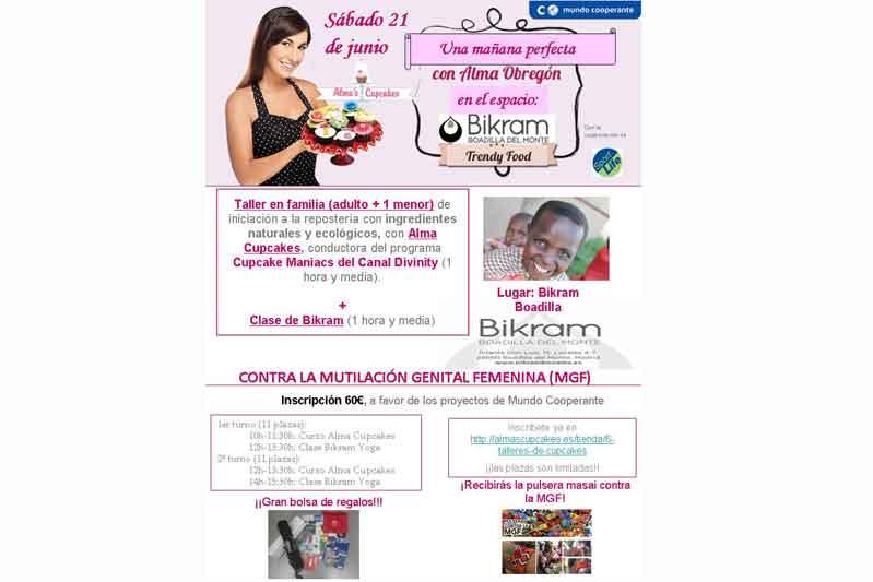 Yoga y cupcakes contra la mutilación genital femenina
