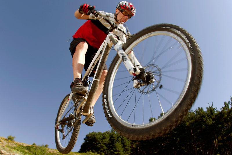 Las mountain bikes son para el verano