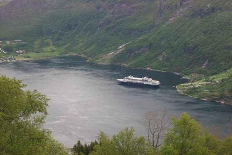 Crucero para runners por los fiordos noruegos