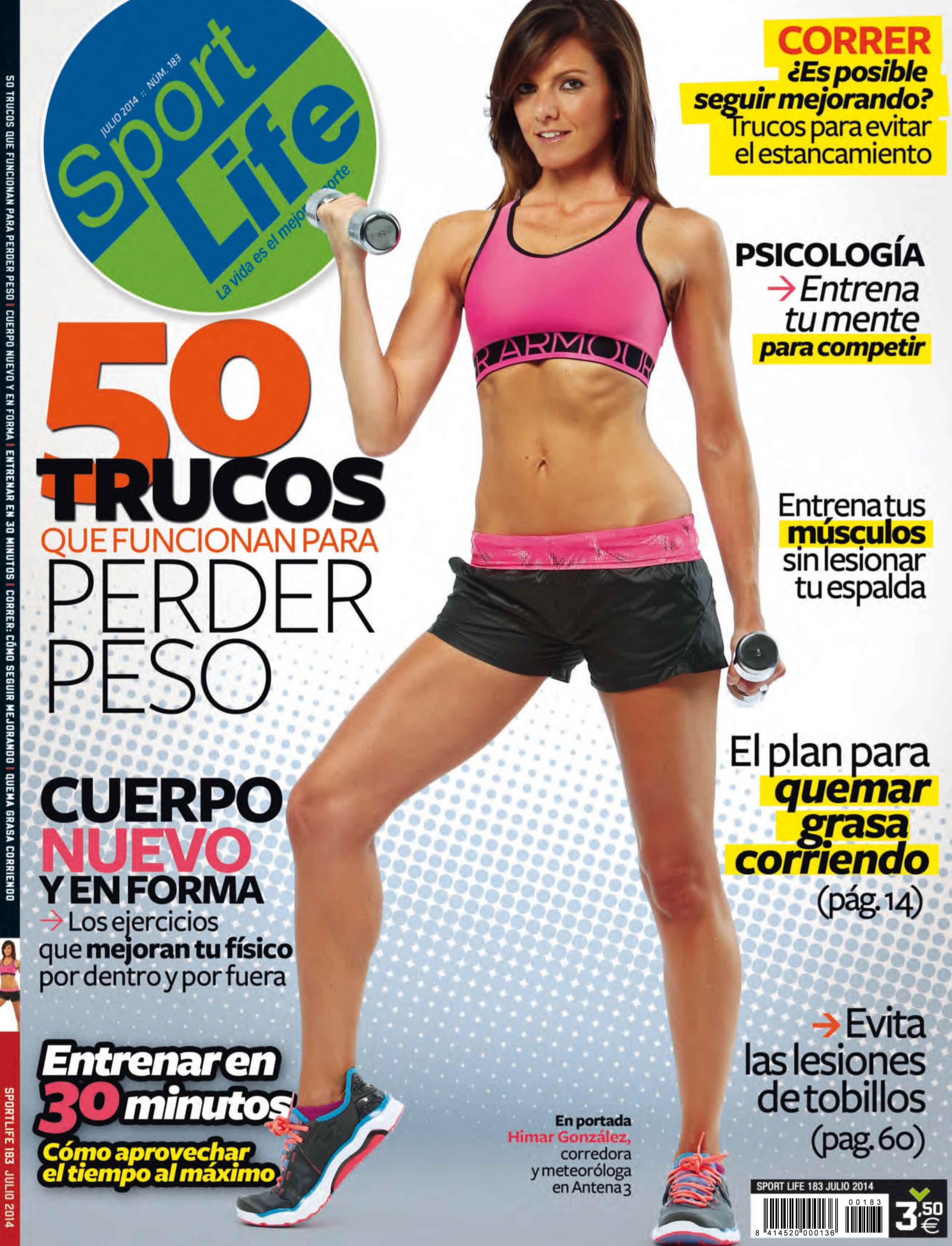 Sumario Sport Life 183 Julio 2014