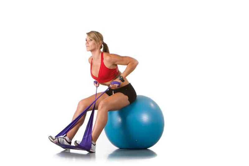 Balón, tensor y en forma