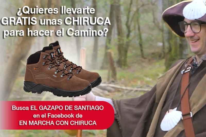 Equípate para el Camino de Santiago con Chiruca