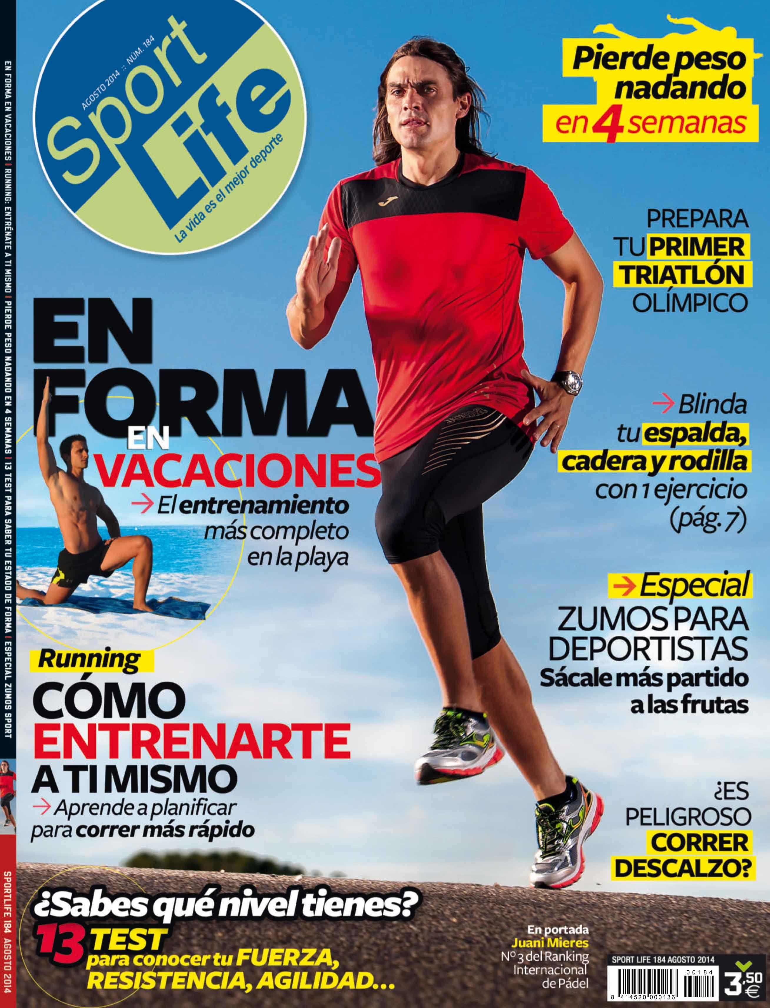 Sumario Sport Life 184 agosto 2014