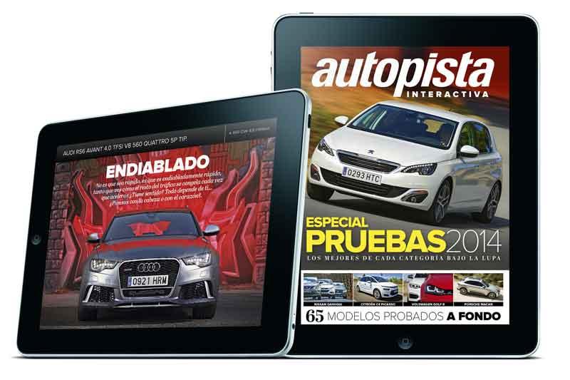 Especial pruebas Autopista para tu tablet