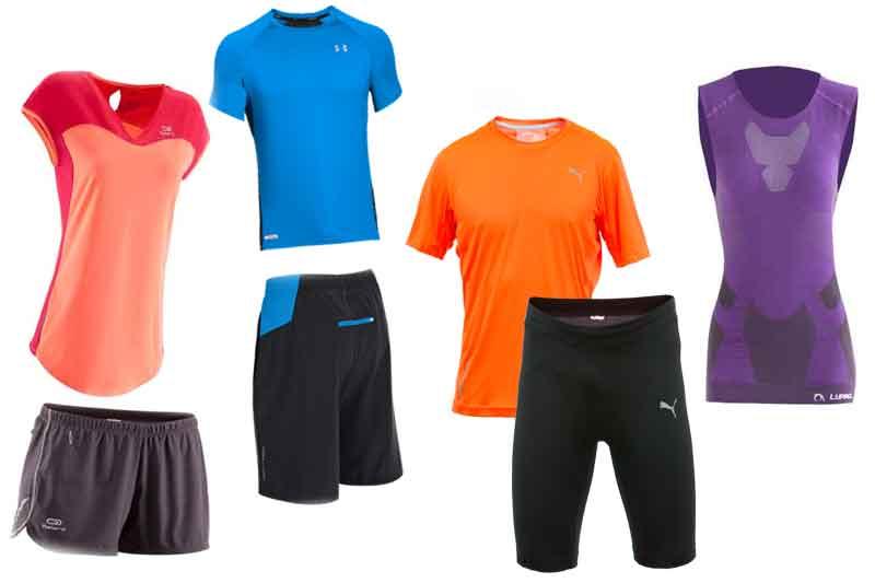 Camisetas y pantalones running 2014