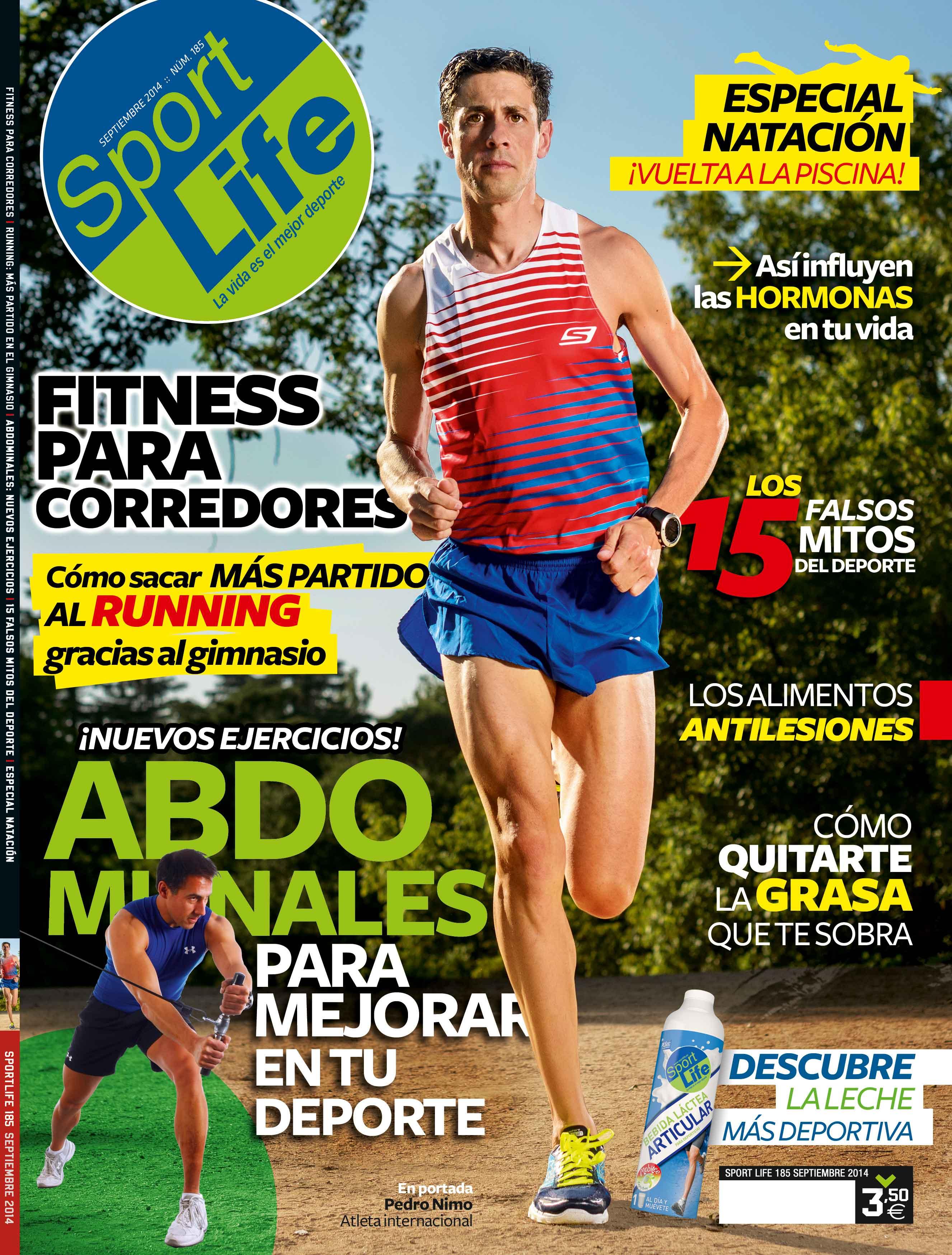 Sumario Sport Life 185 Septiembre 2014