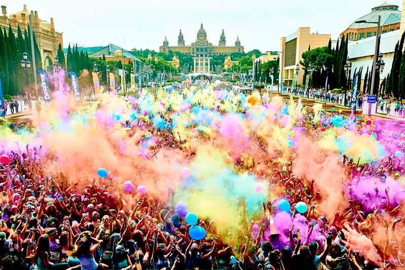 The Color Run llega a Sevilla