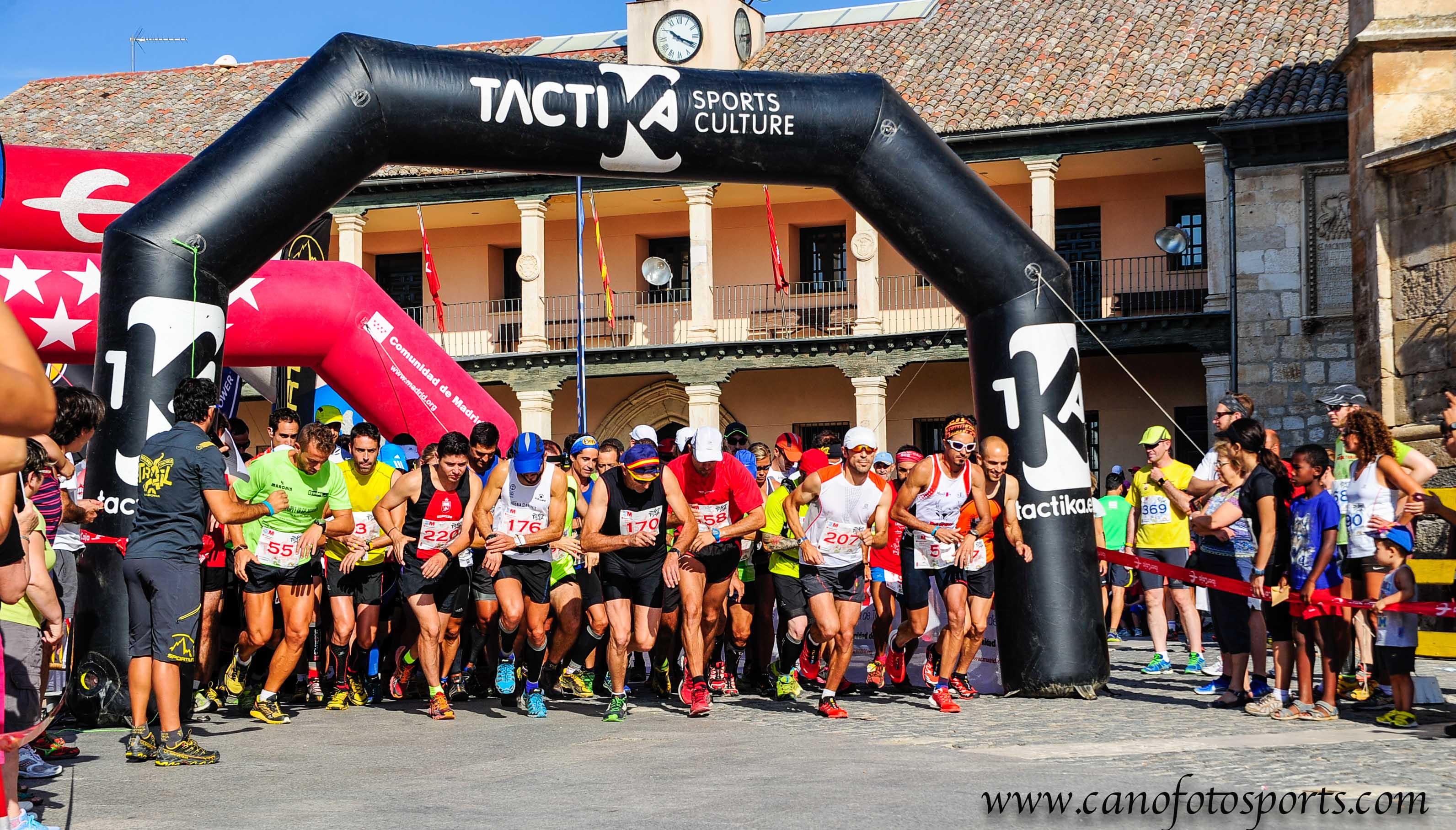 La Cabrera recibe el circuito Madrid Tacktika Trail