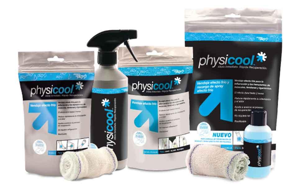 Physicool, triple acción para tus lesiones