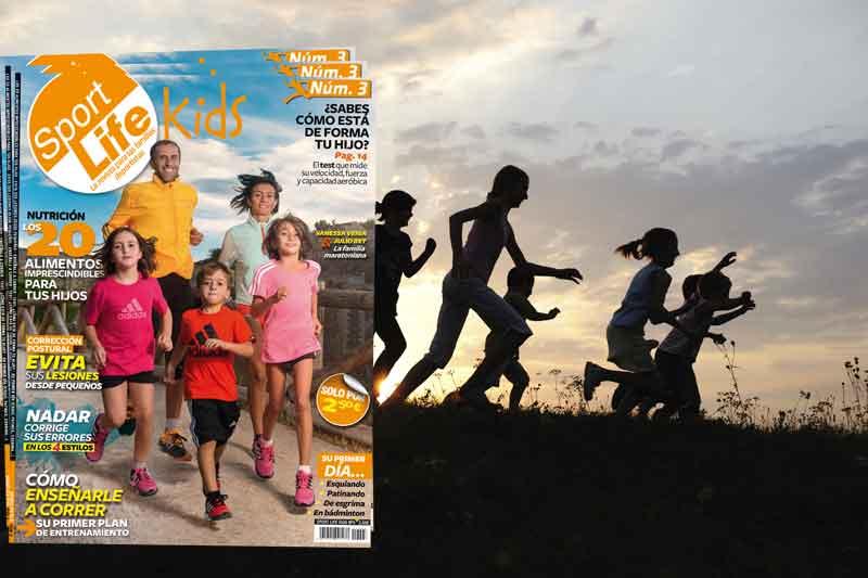 La revista para familias deportistas: ya está en los quioscos el nº 3 de Sport Life Kids