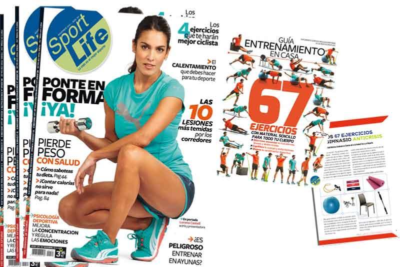 Sport Life noviembre con la guía de entrenamiento en casa