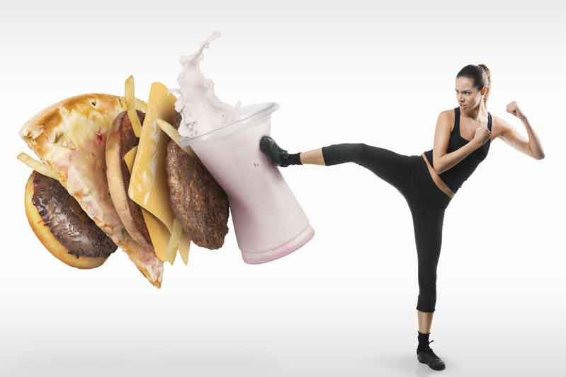 Alimentos que debes evitar para prevenir lesiones