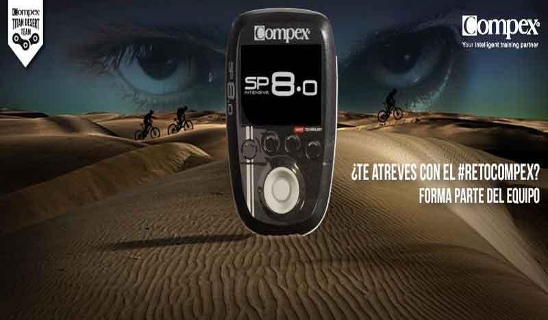 ¿Te atreves con el desierto? ¡Apúntate al equipo Compex para la Titan Desert!