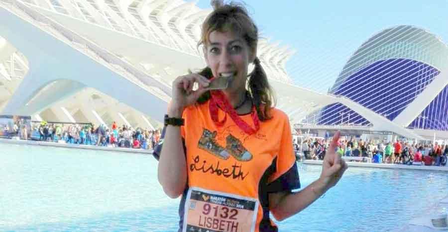 Sansilvestrada nº 4:  Lisbeth Schou, un torbellino enamorado del running