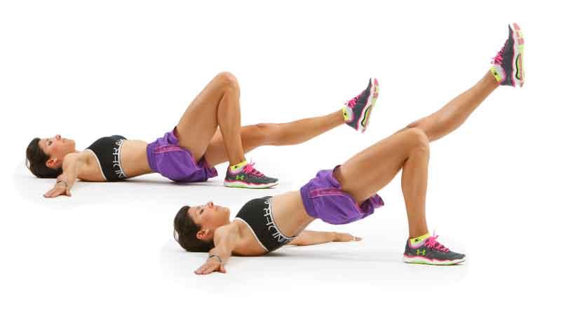Glúteos atléticos y cadera tonificada para correr
