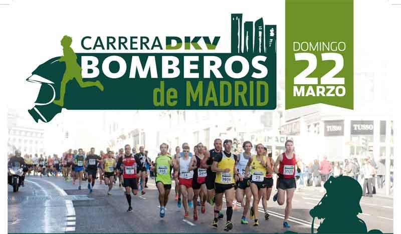 Abiertas las inscripciones para la Carrera DKV Bomberos de Madrid