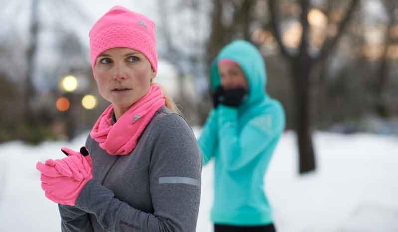 Vence al frío con la tecnología de adidas para corredores