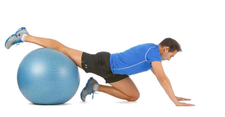 Progresión para estirar los flexores de cadera