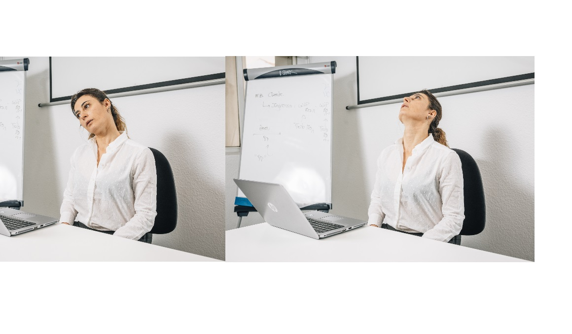 Corrección postural y activación muscular en la oficina