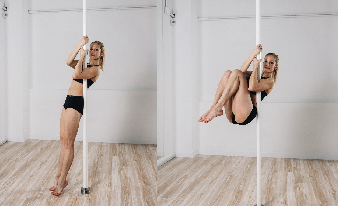 Iníciate en el pole dance