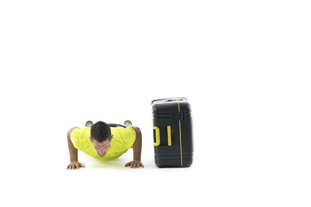 Ponte en forma estas vacaciones... ¡con tu maleta!