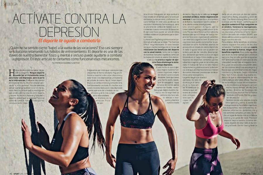 Recupera La Forma Con La Revista Sport Life De Septiembre Noticias