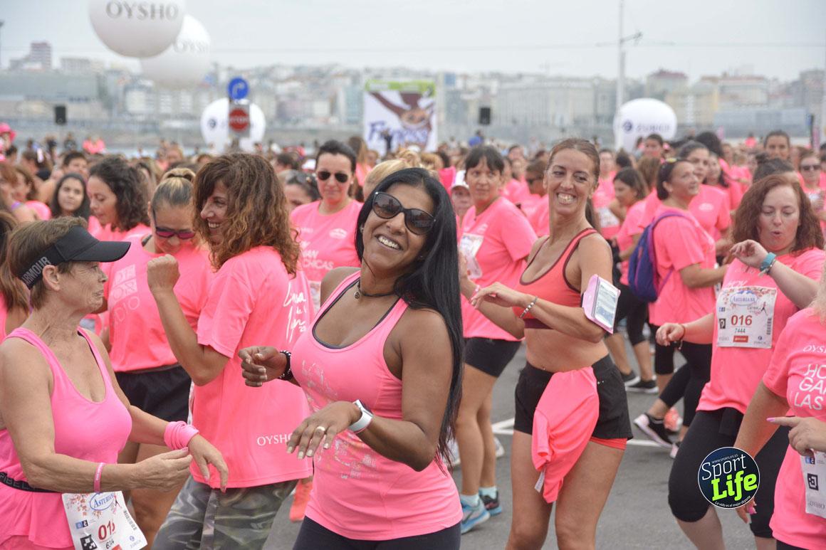 La Carrera de la Mujer de A Coruña dejó estas fotos