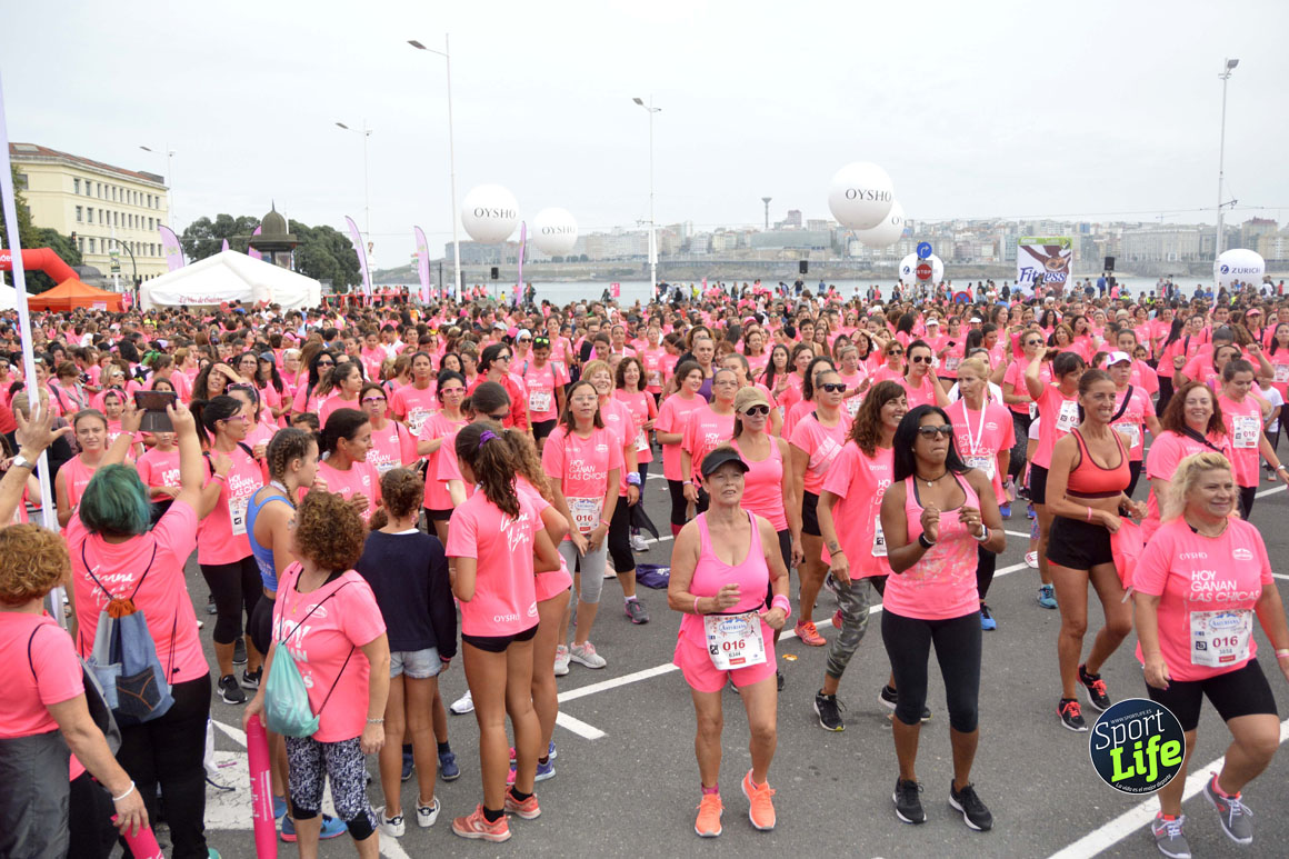 Las imágenes de la Carrera de la Mujer de A Coruña